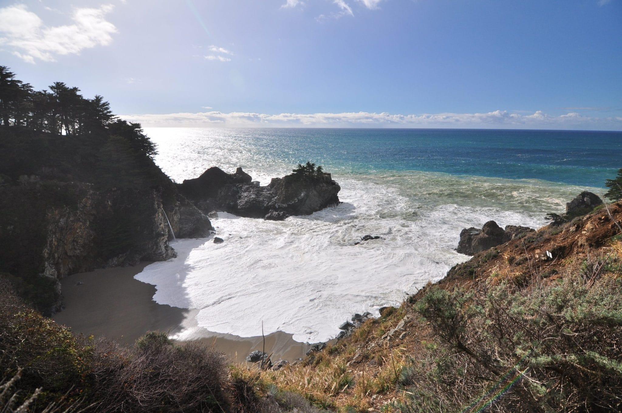 Big Sur, McWay Falls, Monologue by Kris