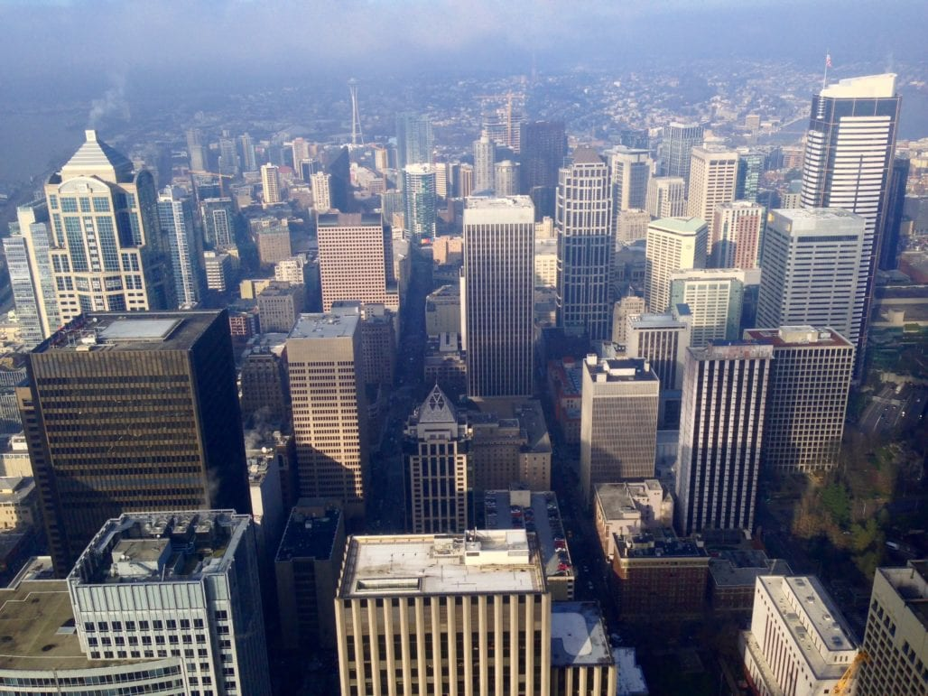 City View From Columbia Tower