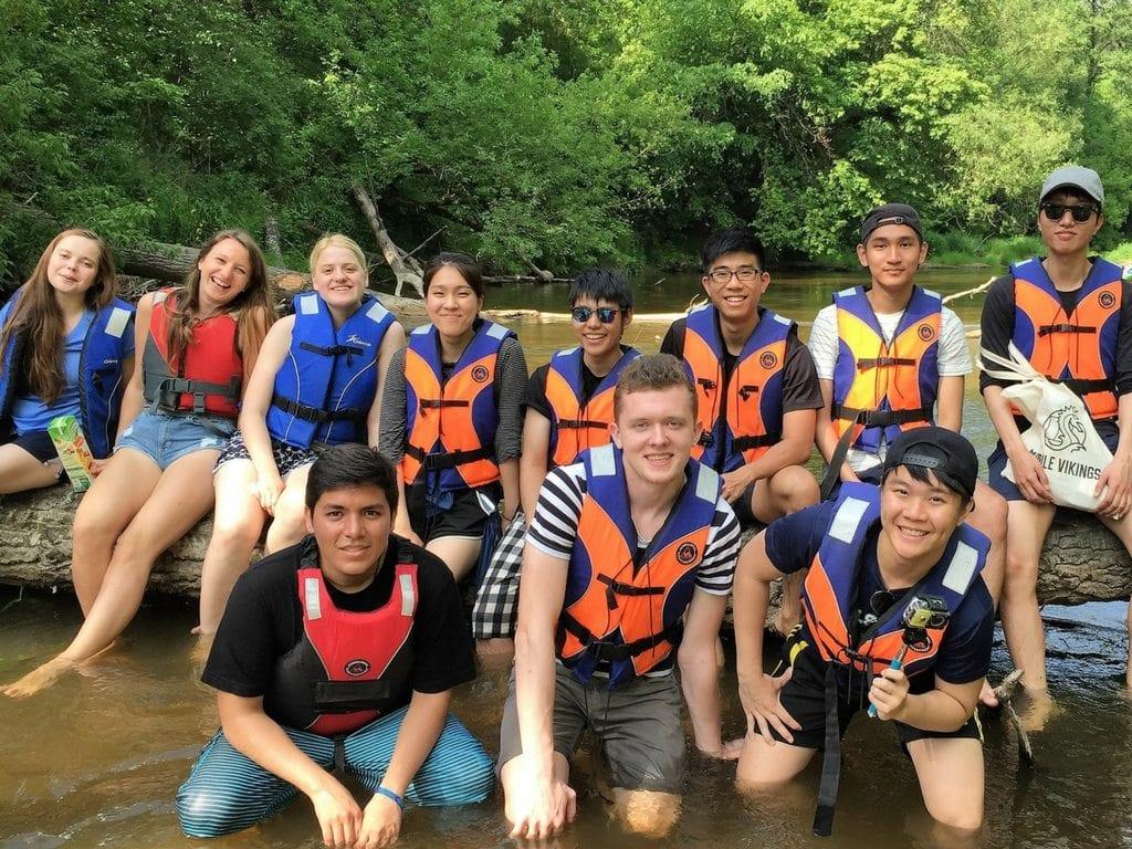 Exchange Program Kayaking