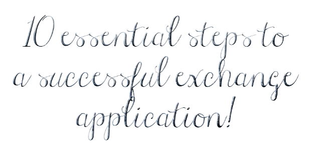 10 essential steps to a successful exchange application