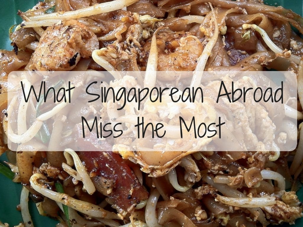 National Day Special: What Singaporean Abroad Miss the Most.