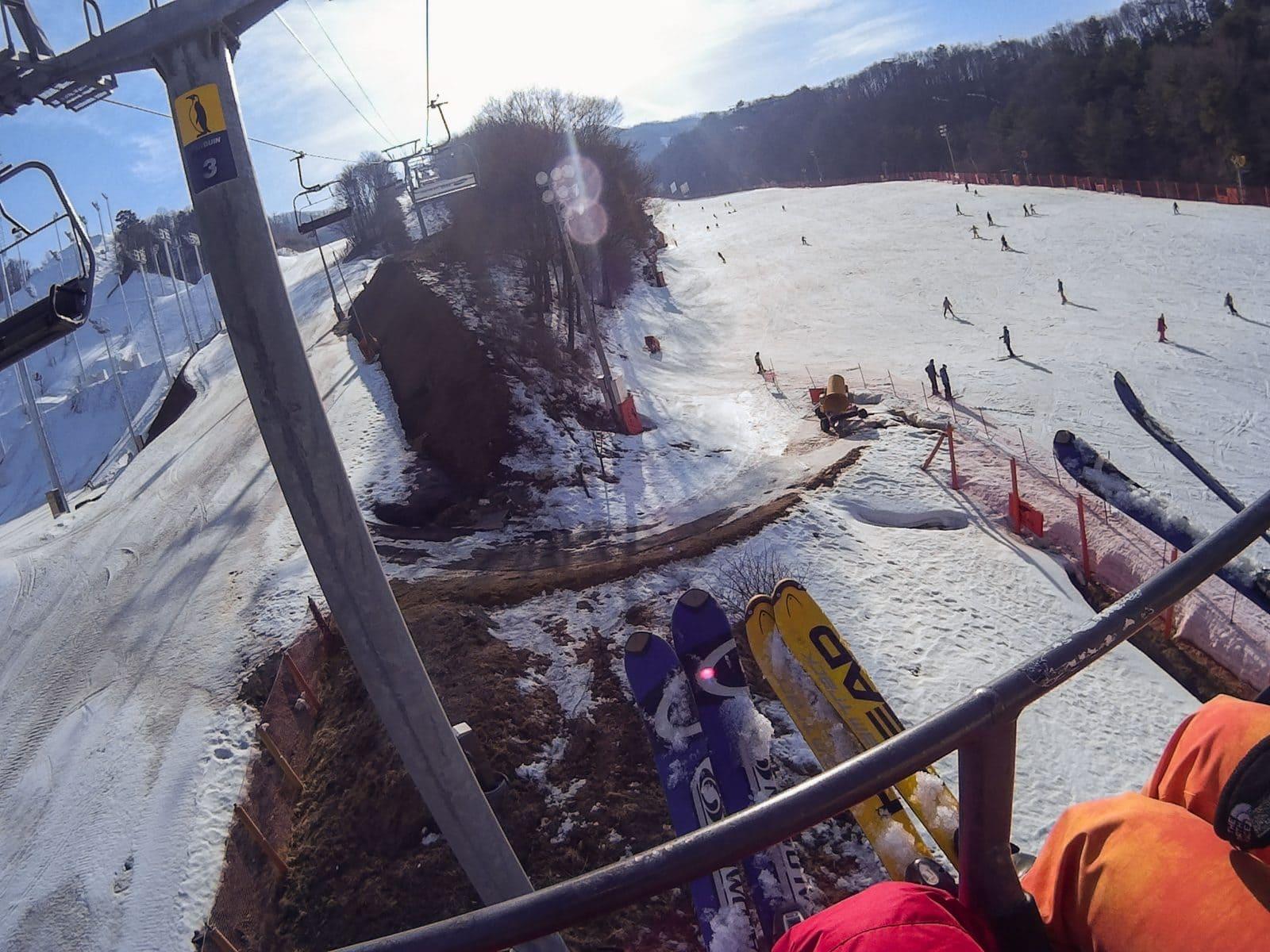 planning a ski trip ski lift