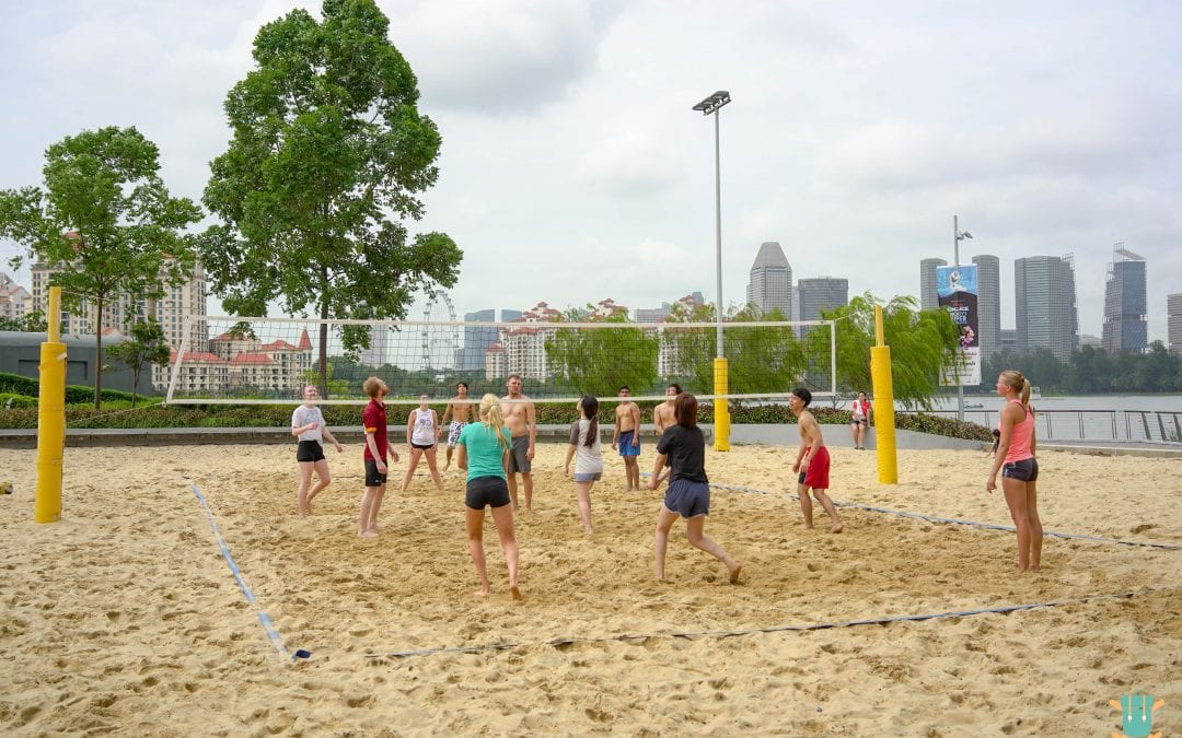 Exchangers event: Beach Volleyball bonding