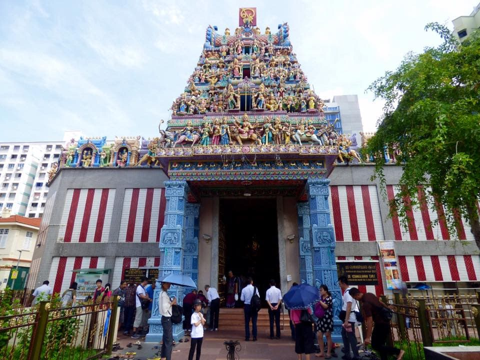 Little India, Sri Veeramakaliamman temple